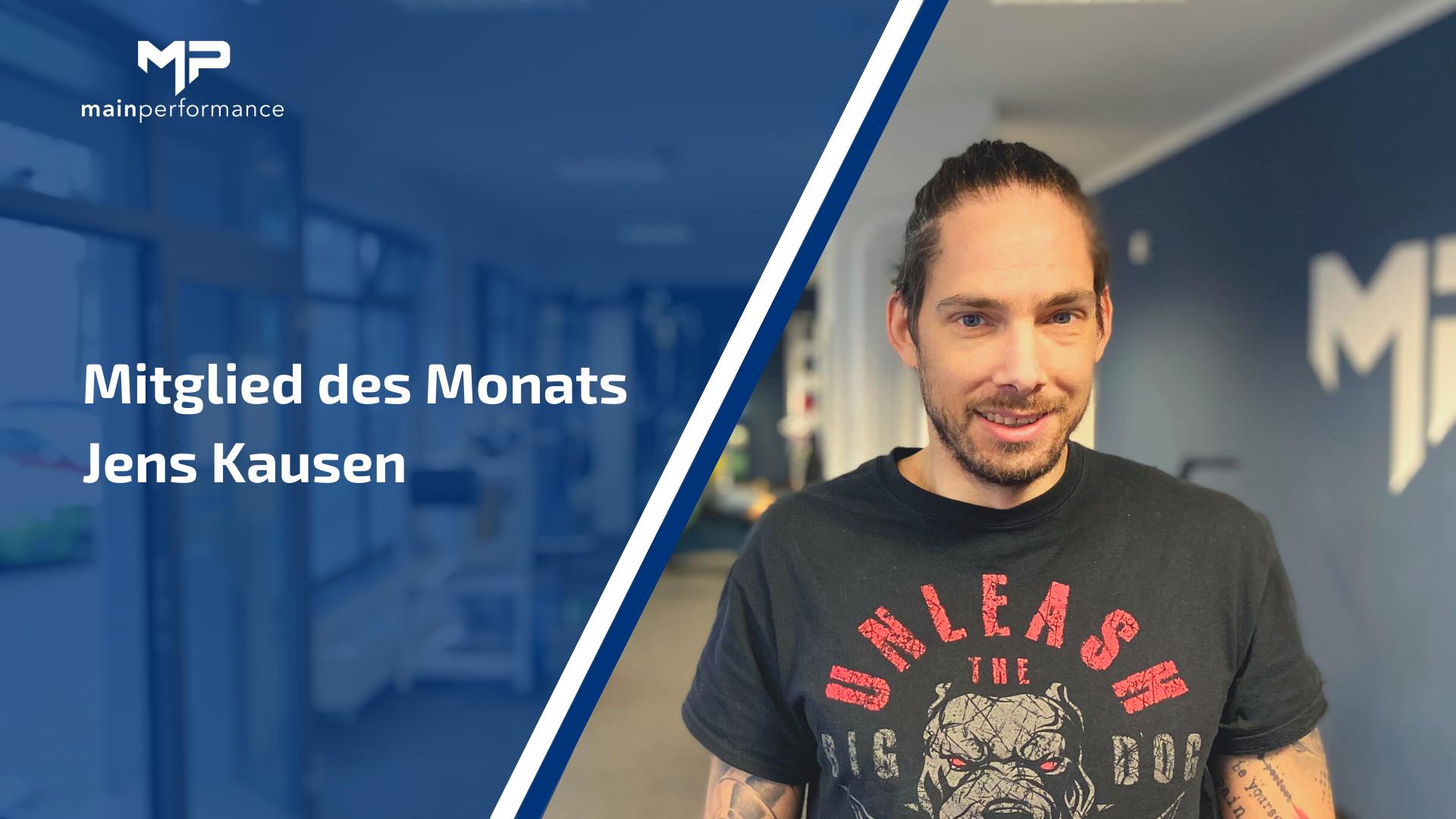 Mitglied des Monats: Jens