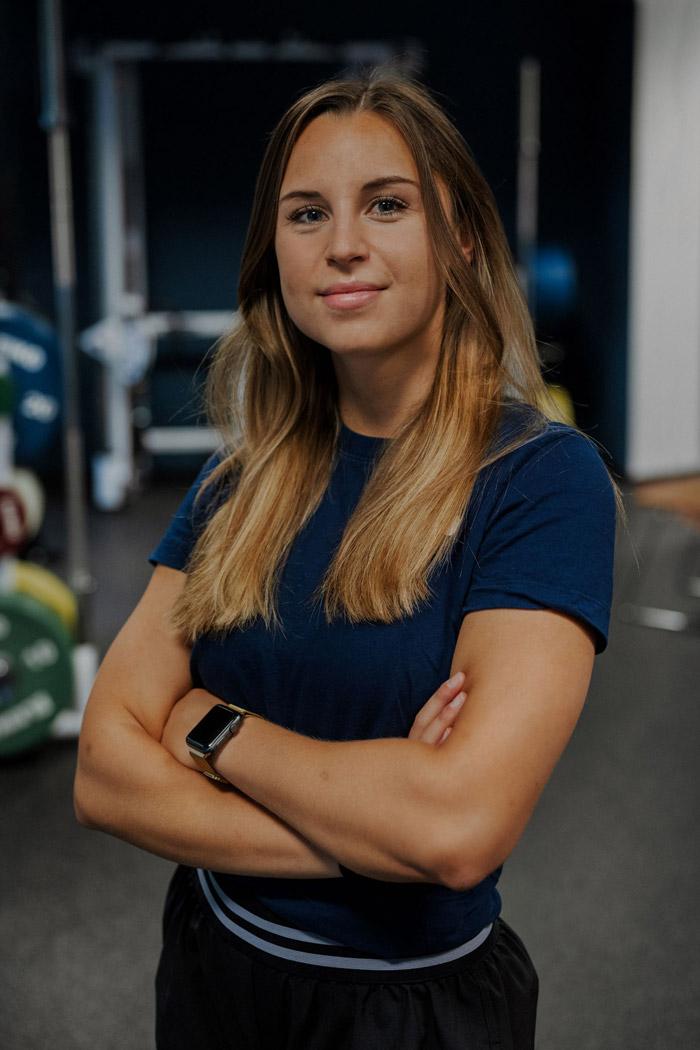 Personal Trainerin Charlotte Glas