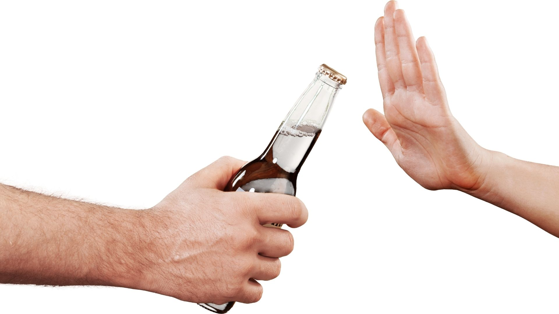 Alkohol vermeiden